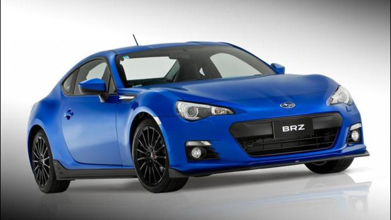 [Copertina] - Subaru BRZ STI Sports Kit concept