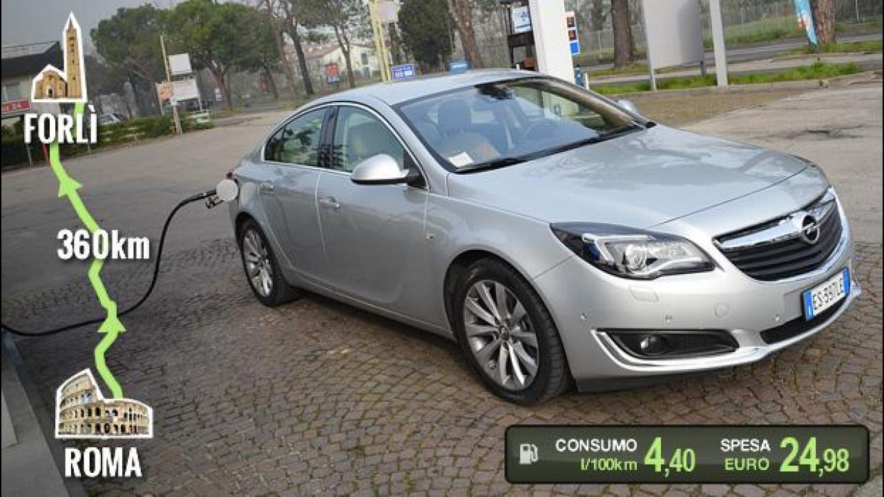 [Copertina] - Opel Insignia 2.0 CDTI 140 CV, la prova dei consumi