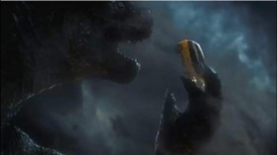 Godzilla in anteprima nello spot della Fiat 500L Trekking