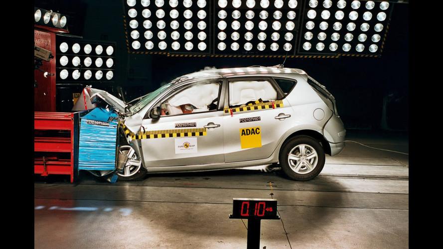 Hyundai i30: 4 stelle Euro NCAP