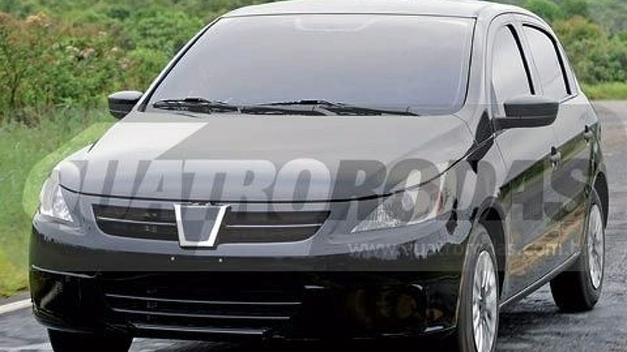 Next Generation VW Gol Is Caught With Little Disguise