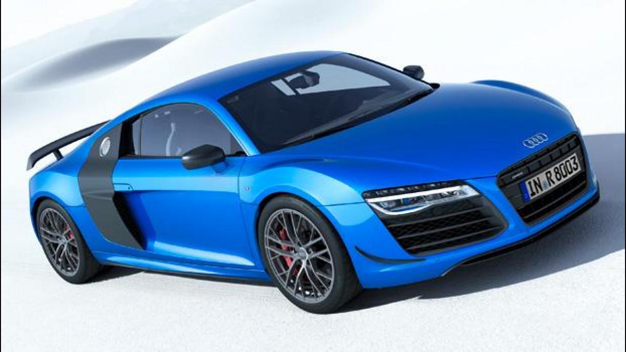 [Copertina] - Audi R8 LMX, più potente e con fari laser