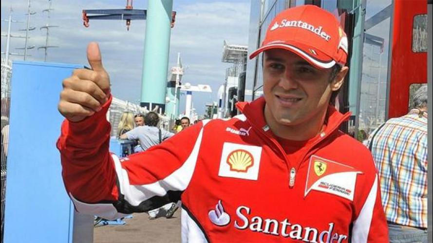 Ufficiale: Massa rimane in Ferrari anche nel 2013