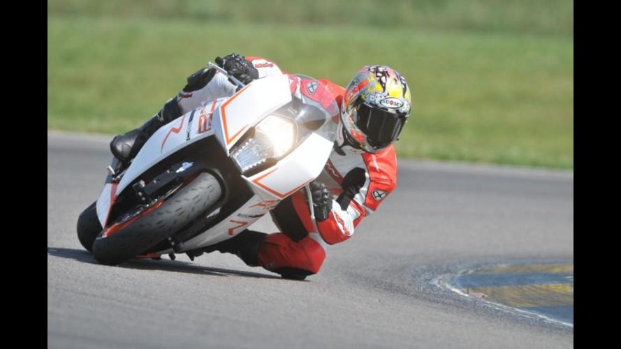 Sebastien Loeb è anche... motociclista