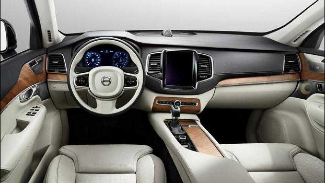 [Copertina] - Nuova Volvo XC90, ecco gli interni