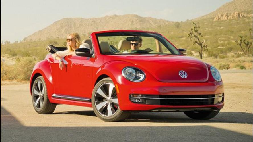 Volkswagen Maggiolino Cabriolet: debutto a Los Angeles