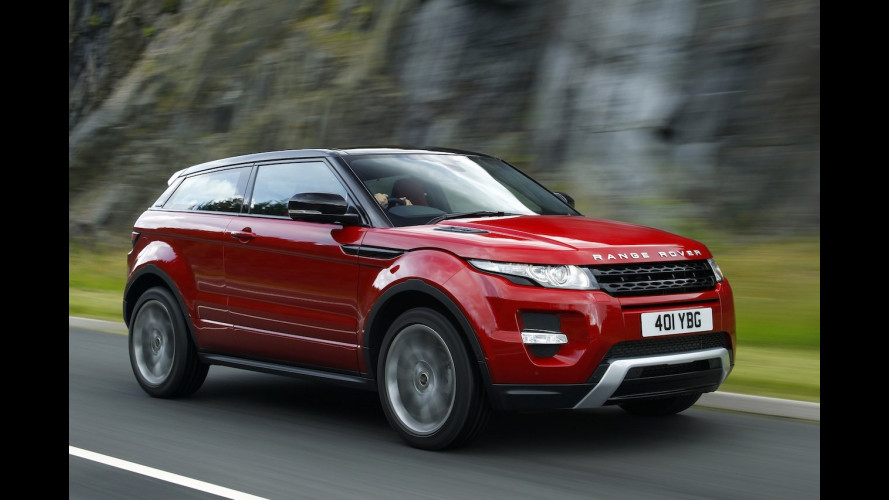 "Range Rover Evoque ""Auto dell'Anno 2011"" per Top Gear"