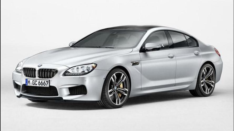 [Copertina] - BMW M6 Gran Coupé: le prime foto