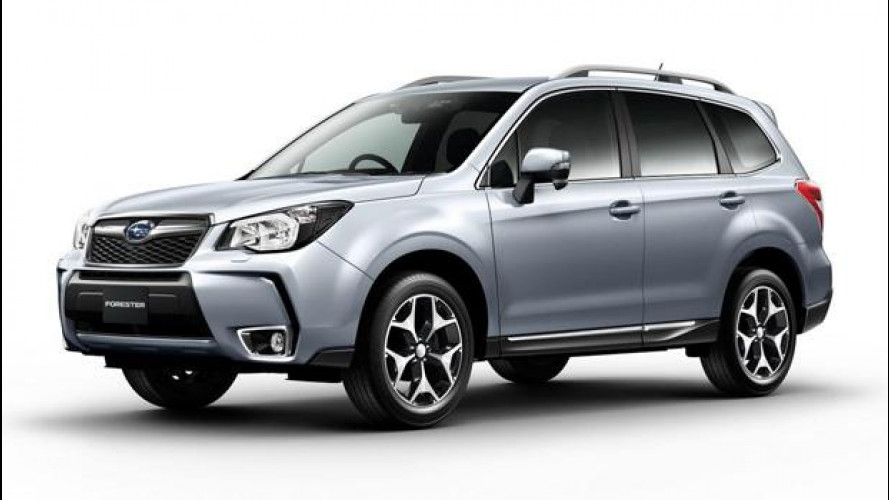 La nuova Subaru Forester è pronta al debutto giapponese