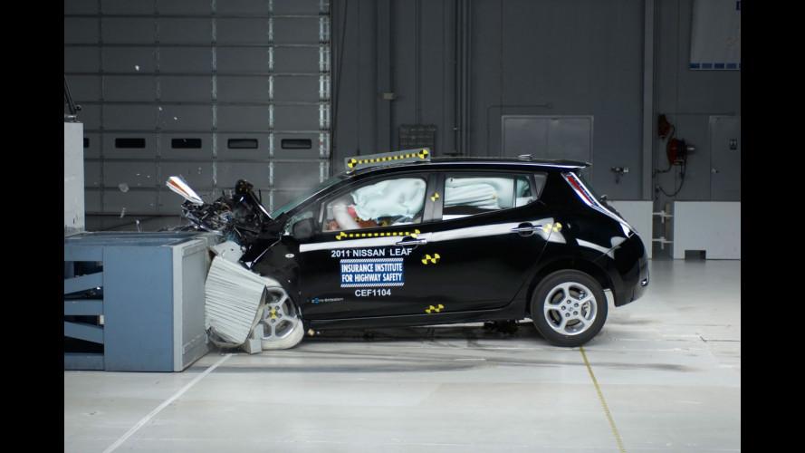 La Nissan Leaf si aggiudica 5 stelle NTHSA