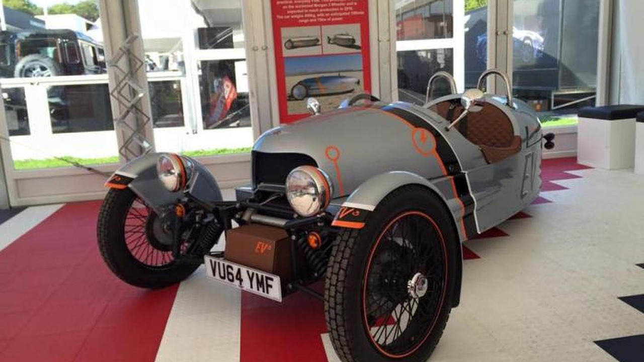 Morgan EV3 prototype
