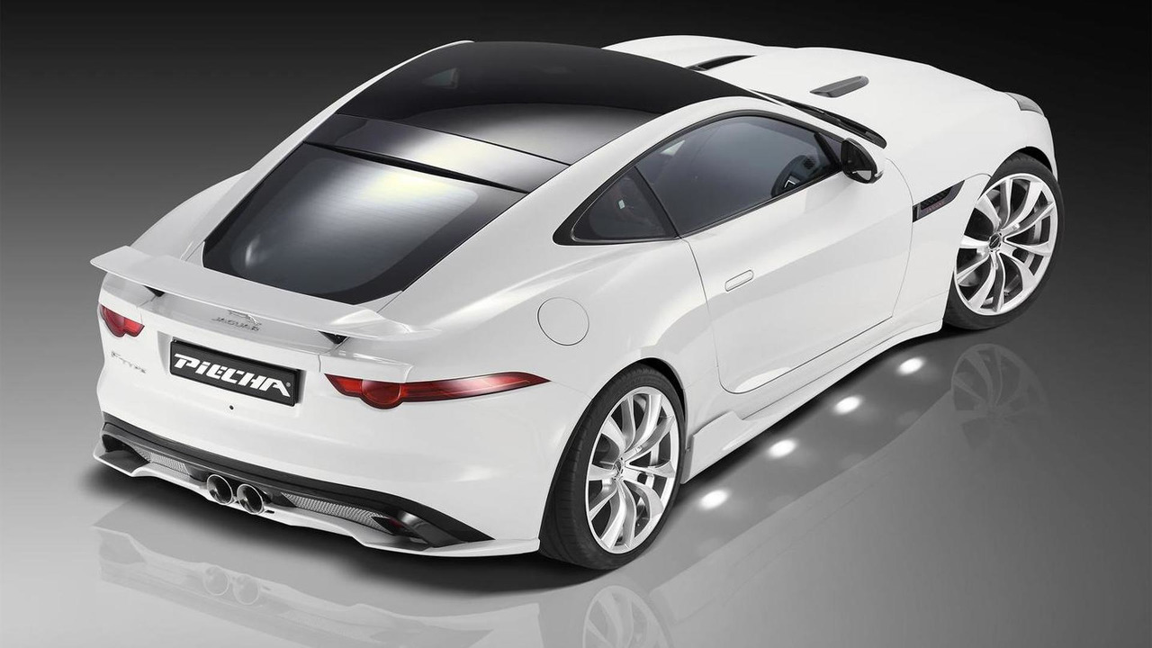 Jaguar F Type Evolution 3 0 V6 Coupe By Piecha Design Motor1 Com