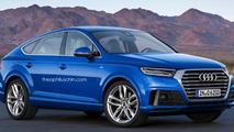 Audi Q6 rendering / Theophilus Chin