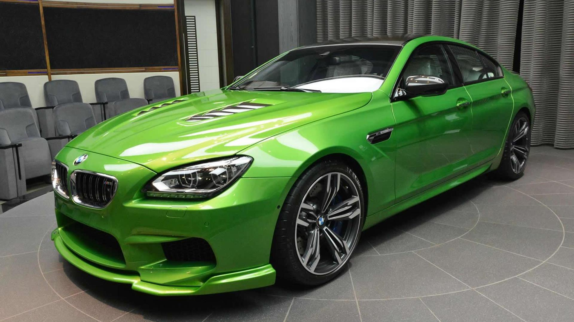 Heavily Modified Bmw M6 Gran Coupe In Java Green Looks