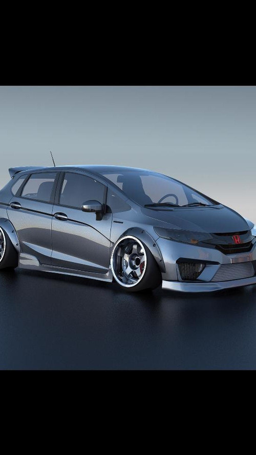 Honda to introduce six customized Fits at SEMA