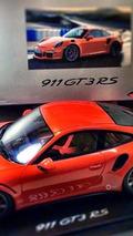 Porsche 911 GT3 RS scale model