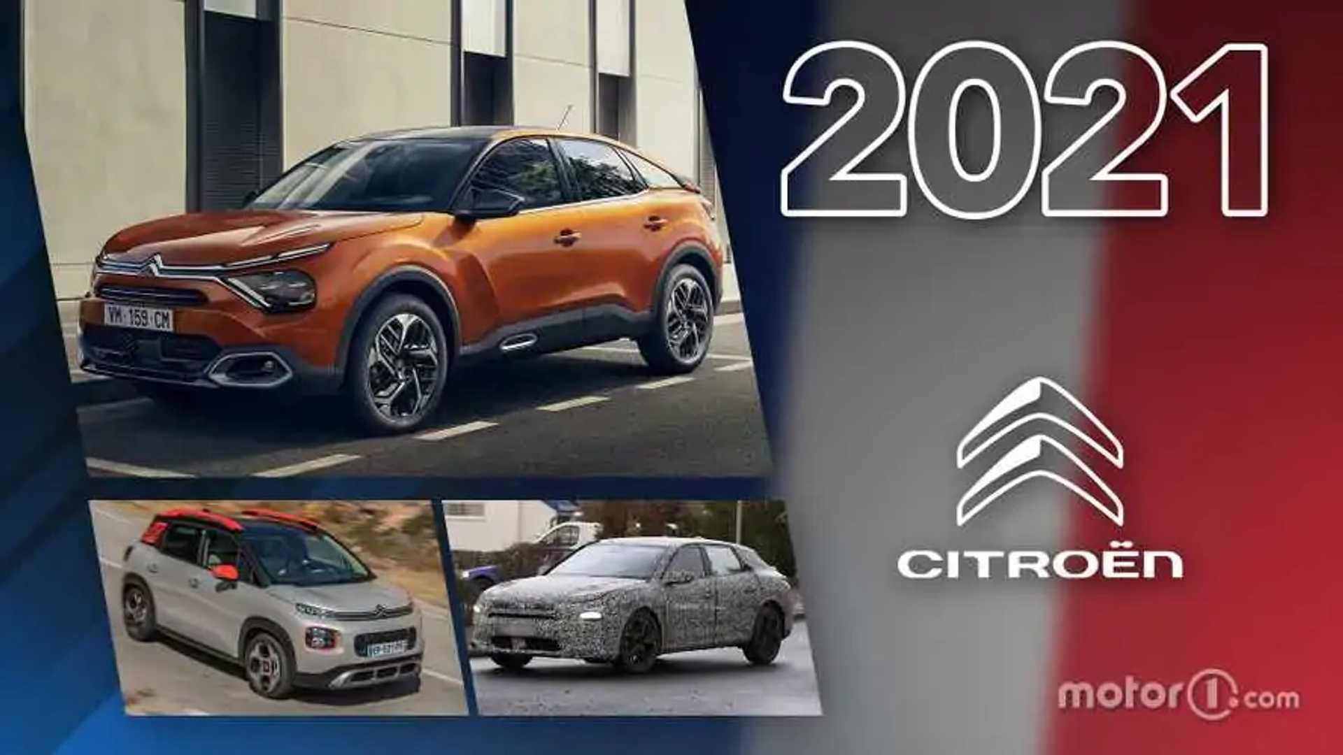 Citroën, toutes les nouveautés de 2021 - Motor1 France