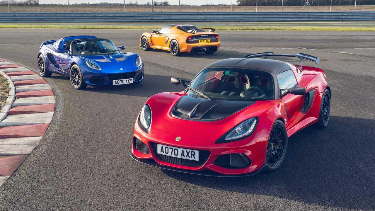 2021 Lotus Elise e Exige Edição Final