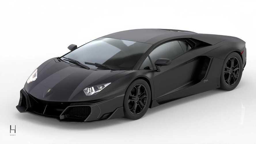 Huber Era, l'omaggio ai 10 anni della Lamborghini Aventador