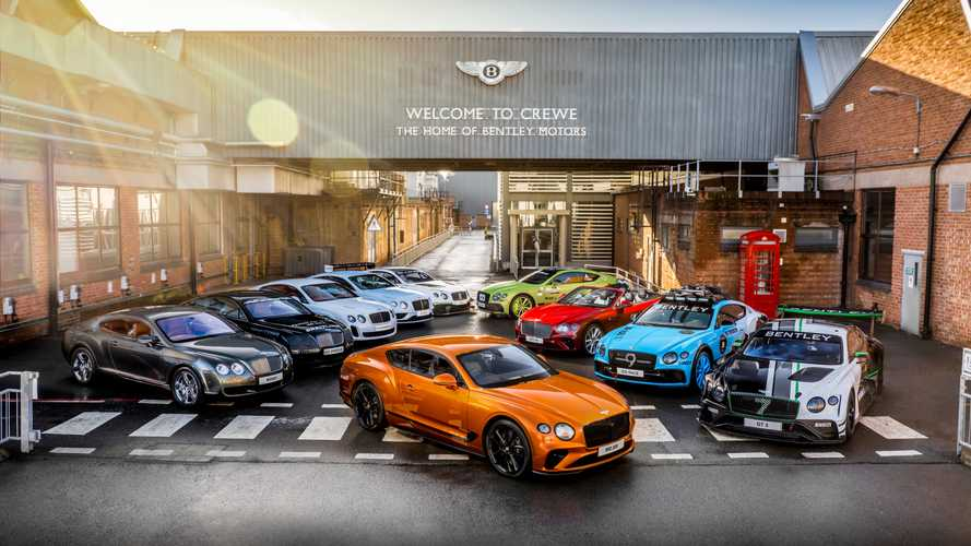 Bentley Continental GT 80,000 Production Milestone
