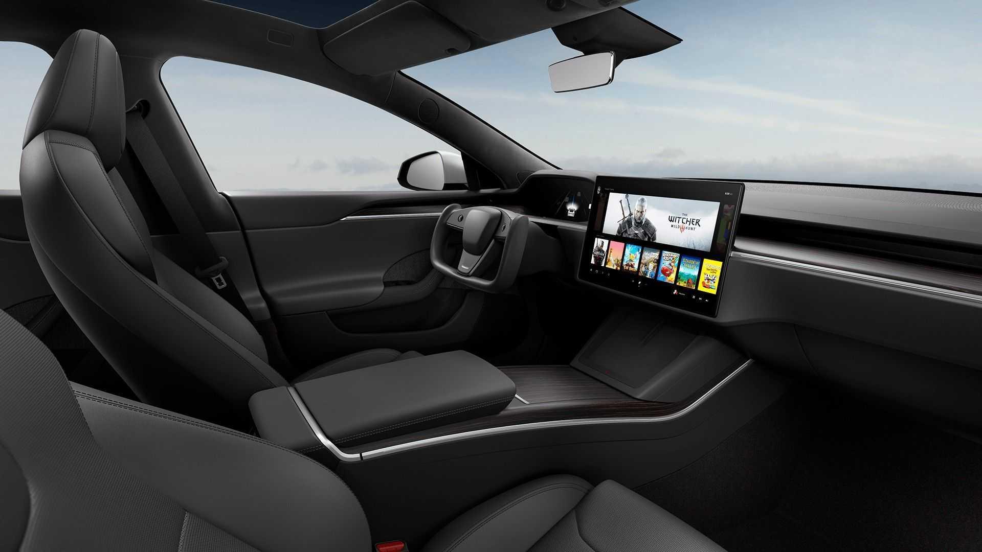 Tesla Car Interior 2021