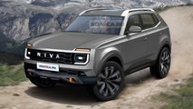 Lada Niva (2024): Renderings zeigen die mögliche Serienversion