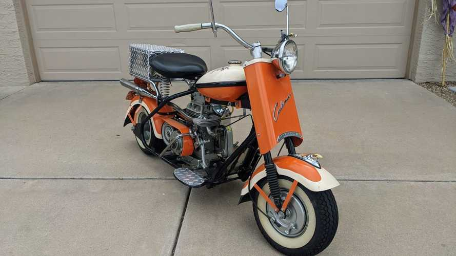 This 1956 Cushman Eagle Was A Teenager's Dream