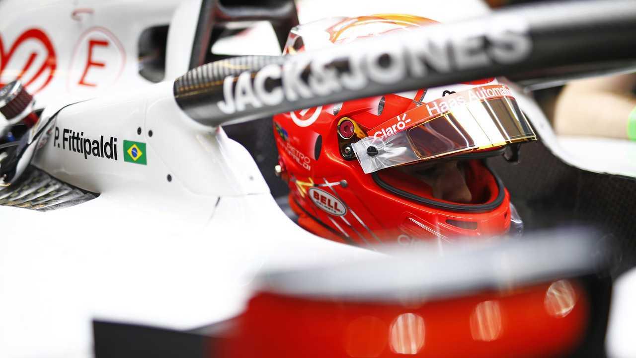Pietro Fittipaldi, Haas F1, in cocpkit