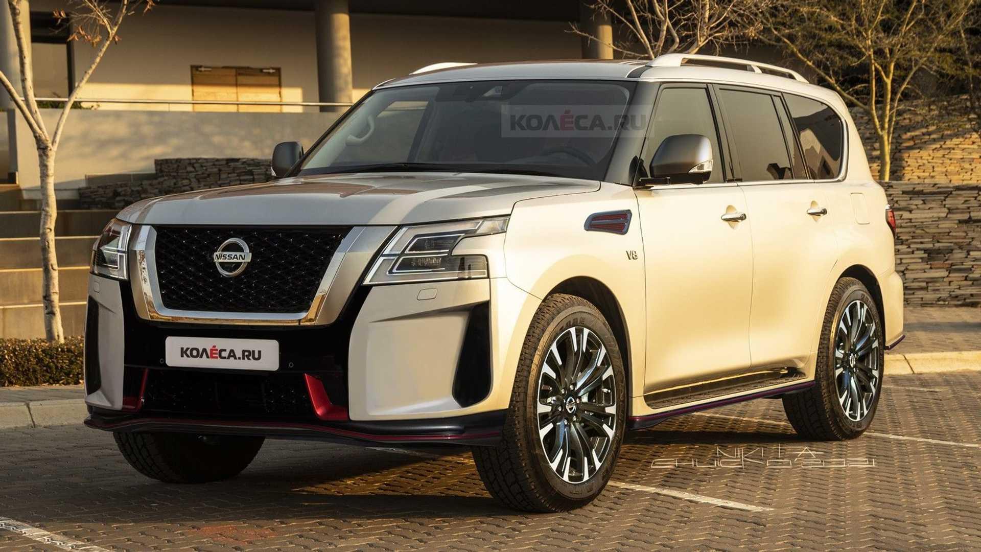 Рестайлинг Nissan Patrol Nismo 2022 года сделан на основе шпионских снимков