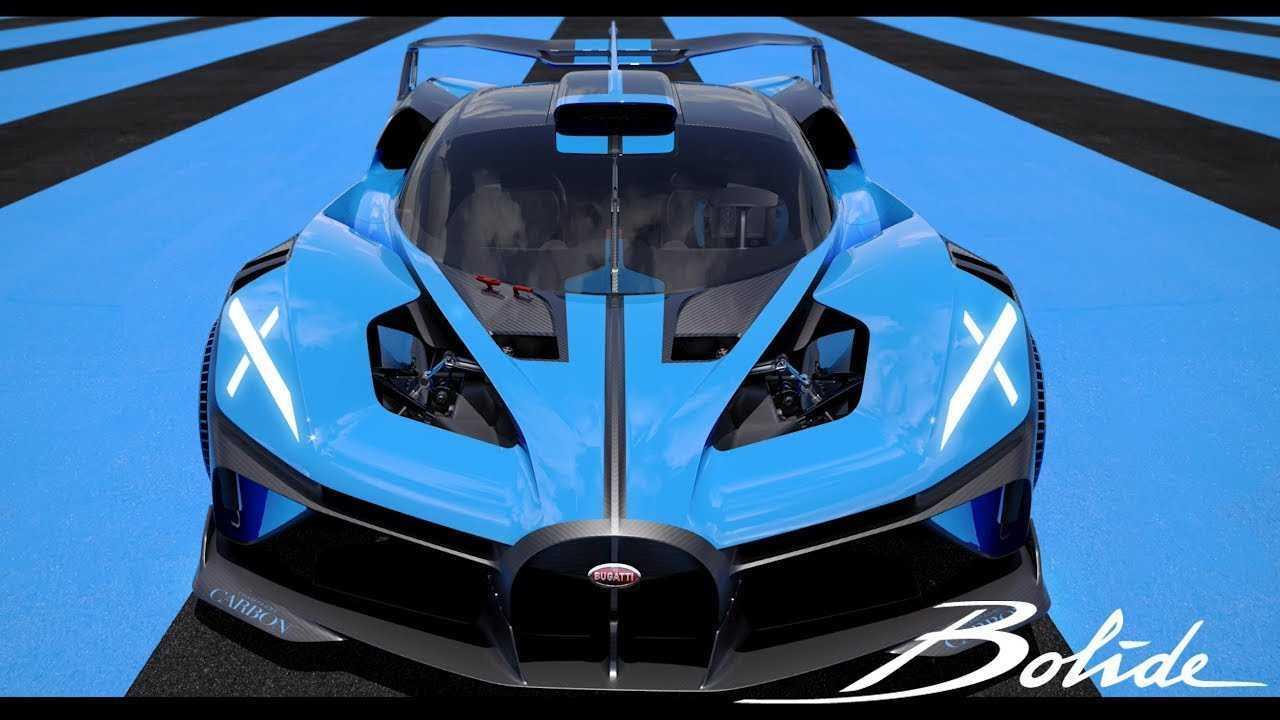 Bugatti Bolide adalah hypercar buatan Prancis yang memiliki kecepatan luar biasa.