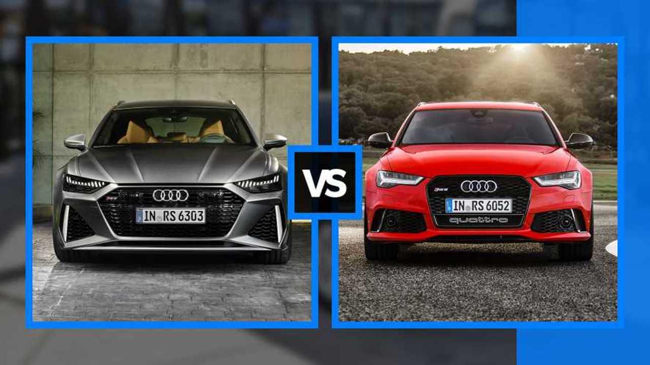 Audi RS 6 Avant, nuova e vecchia a confronto