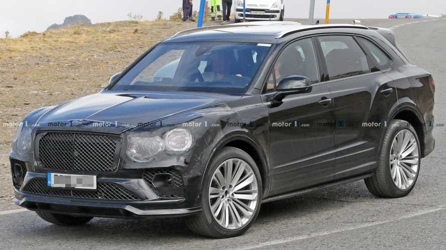 Bentley Bentayga refresh spied for first time
