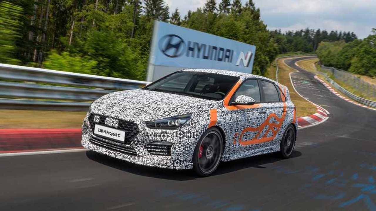 Hyundai i30 N Project C, gli ultimi test