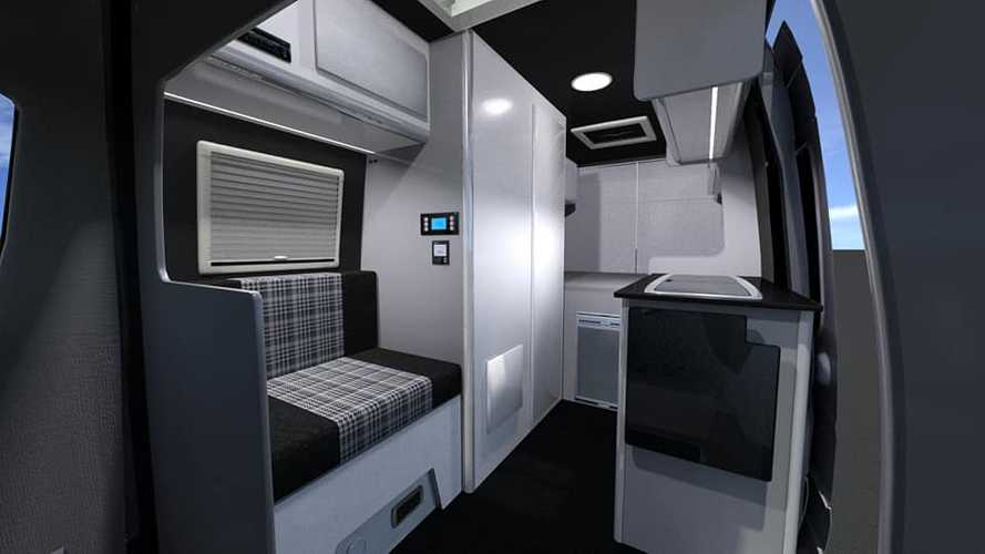 Mercedes Sprinter camper por Hunter Sport Homes