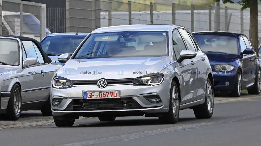 VW Golf GTE kémfotók