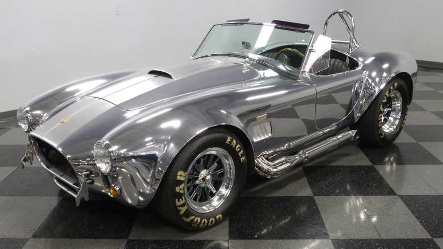 99-Mile 1965 Shelby Cobra Anniversary Edition Is A Polished Gem