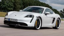 Porsche 718 Cayman Taycan Rendering