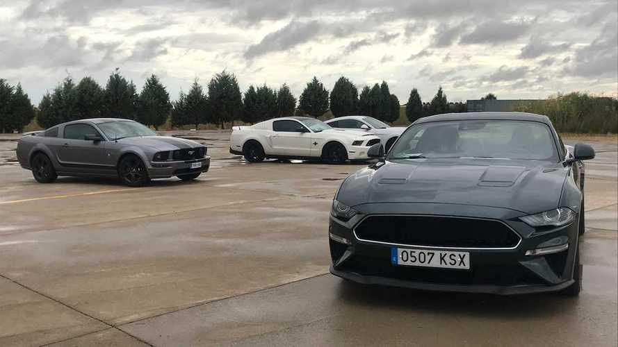 V Mustang Day: afición por los 'pony cars'