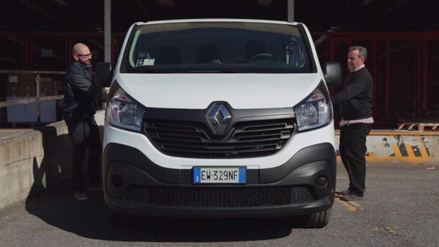 Renault Trafic. A prova di corriere