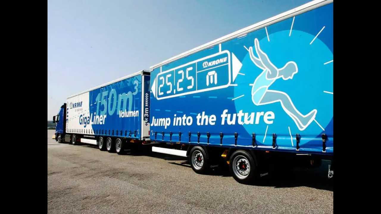In Germania altri 350 km per i Gigaliner