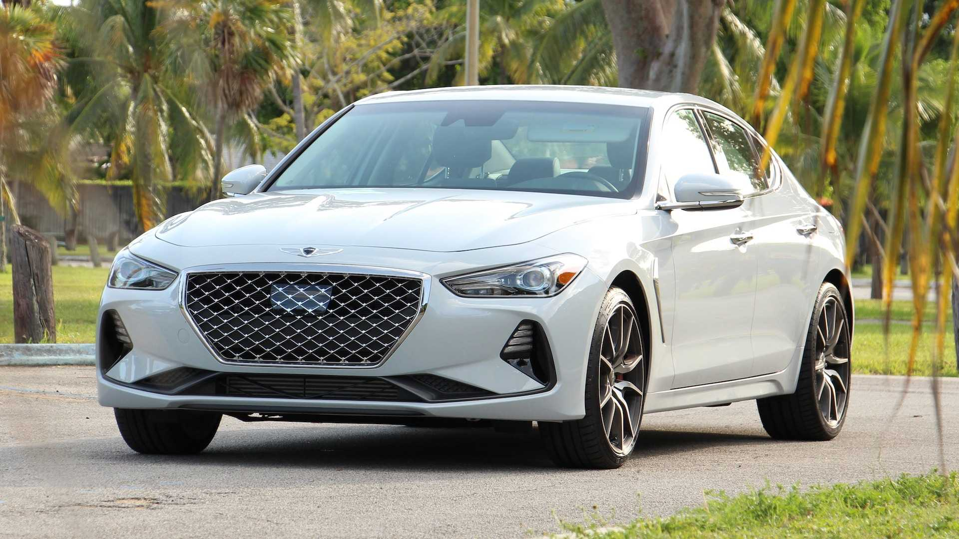 Genesis G70 Getting More Power With New 2 5 Liter Turbo Engine