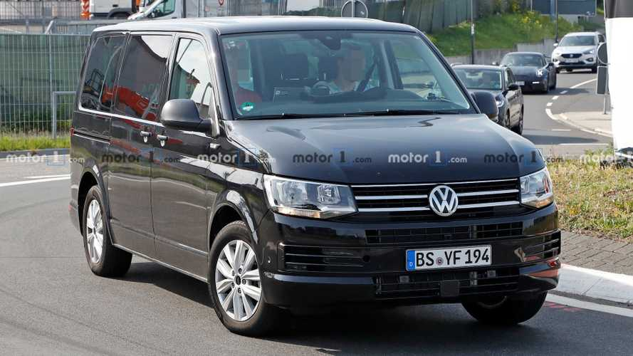 Volkswagen Transporter T7 Test Mule Spied Again