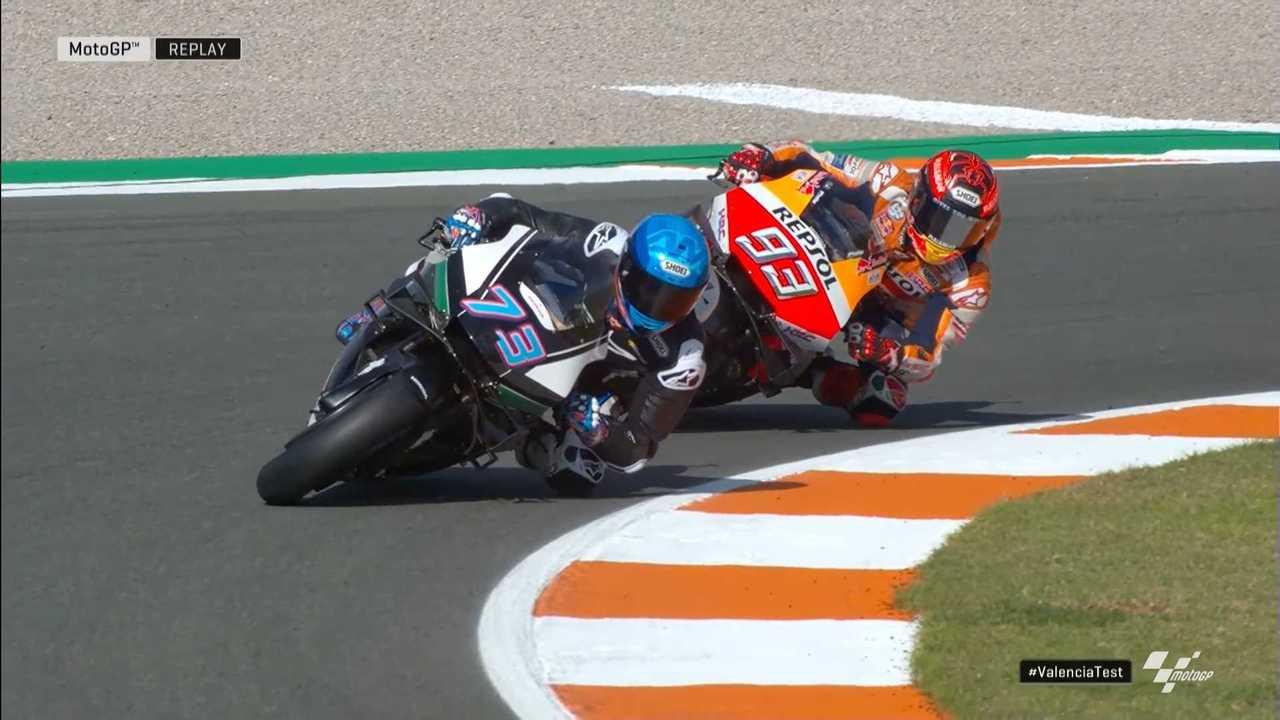Marc and Alex Márquez MotoGP Valencia 2020 Test