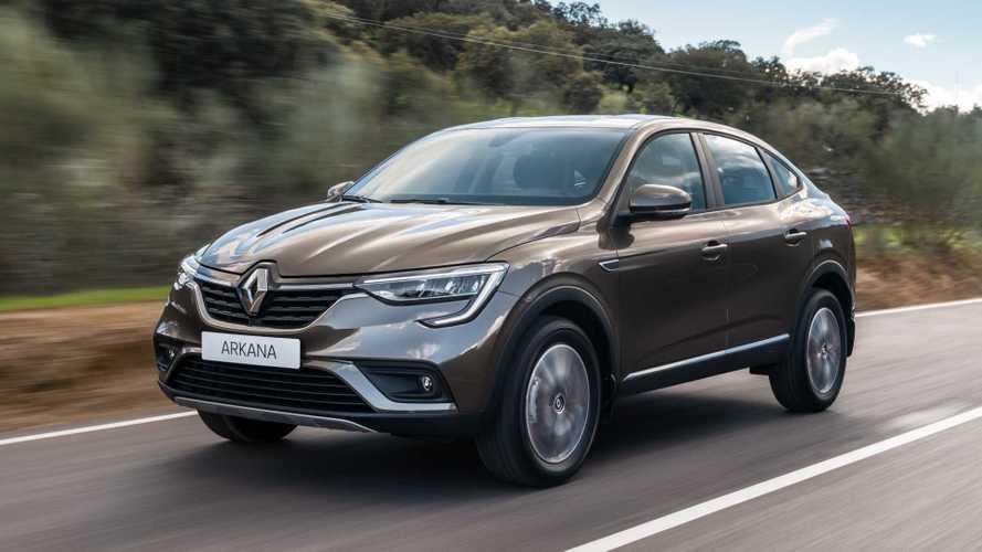 Renault Arkana também será vendido na Europa; Brasil aguarda