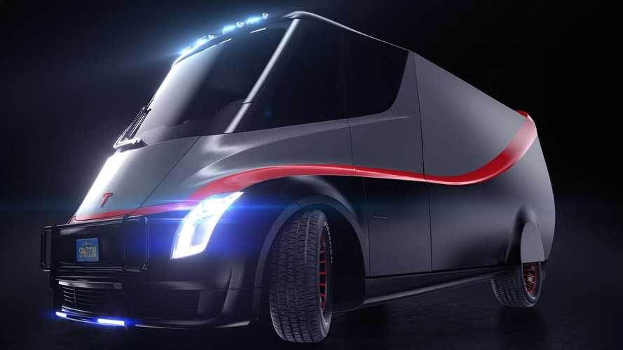 Tesla Semi A-Team Renders