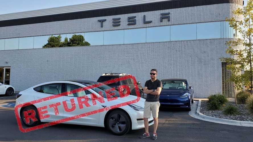 This Hardcore Tesla Fan Returned His Tesla Model 3 SR+ And Here's Why