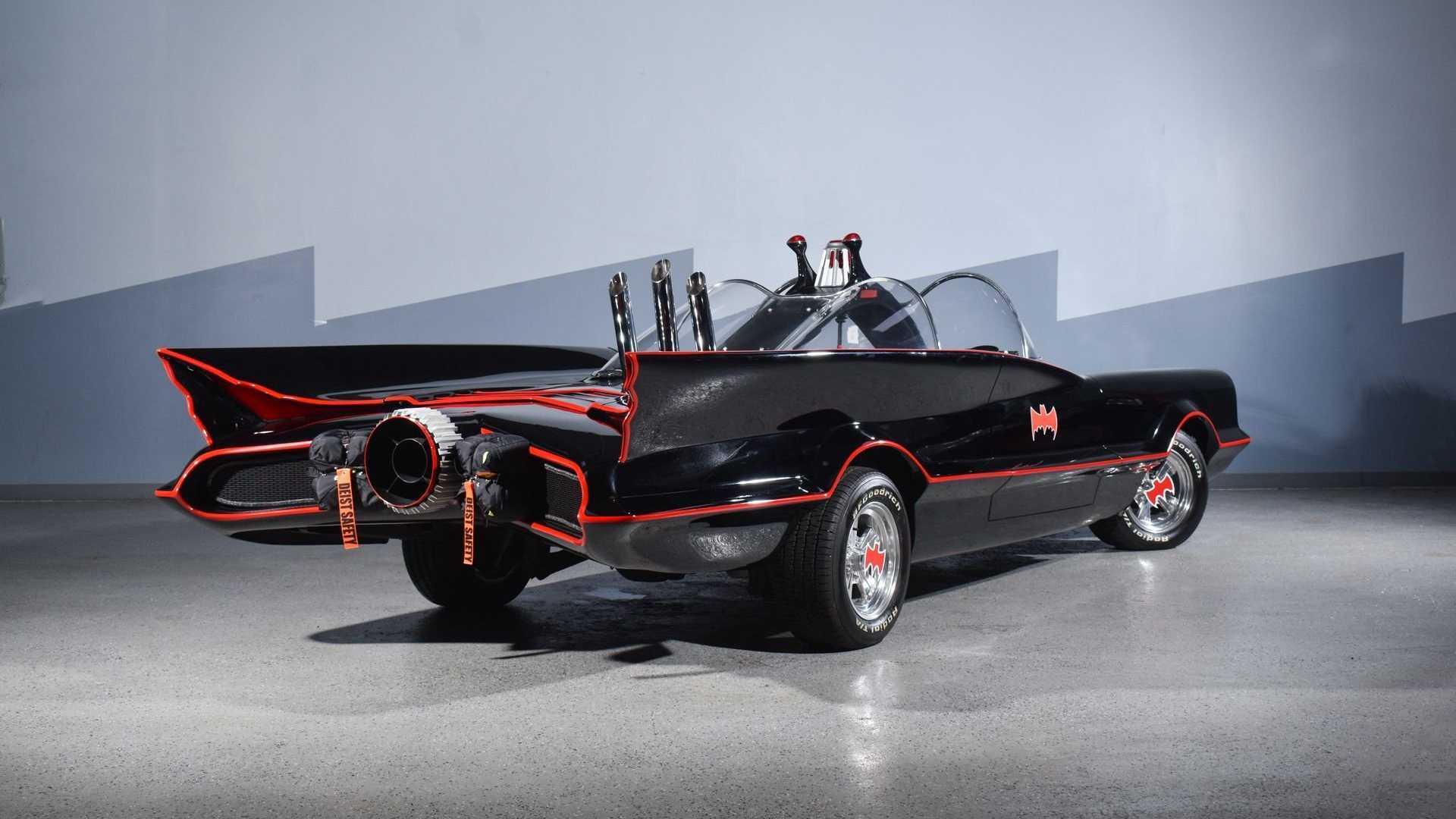 "[""Save Gotham City In This Amazingly Accurate Batmobile Replica""]"