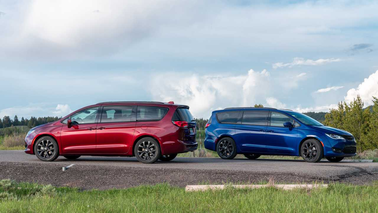 Chrysler Pacifica 2020 Review.2020 Chrysler Pacifica Red S Edition Is A Colorful Minivan