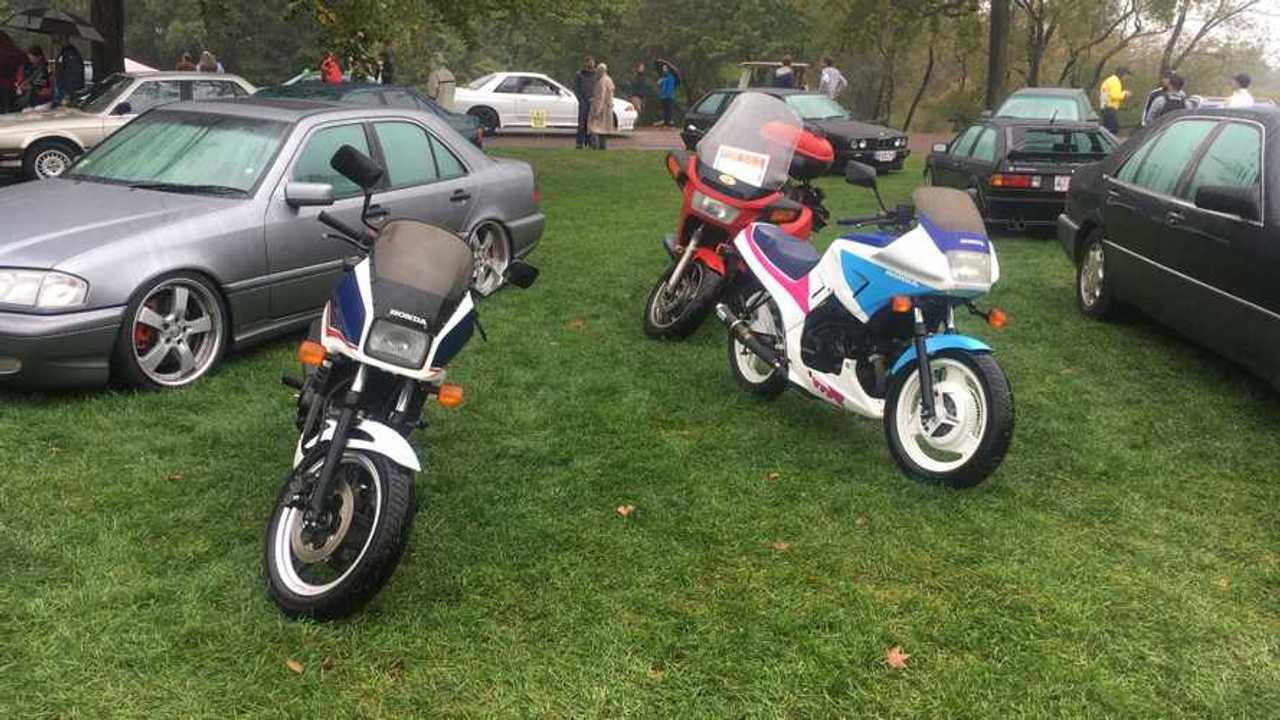 Rad Honda Parking