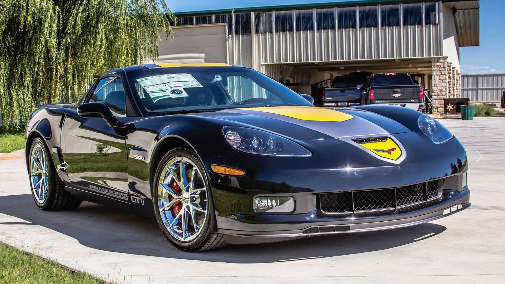 "[""Rare 2009 Chevy Corvette Z06 3LZ GT1 Coupe Up For Bids""]"